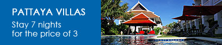 50% off Pattaya Villas